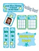 Ocean Themed Classroom Calendar, Decor, Forms, Displays (many files editable)