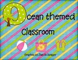 Ocean Themed Classroom Decorations
