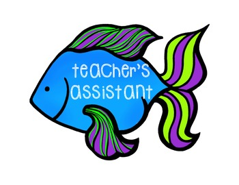 Ocean Themed Classroom Jobs Set