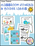 Classroom Labels - Ocean themed