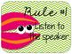 Ocean Themed Classroom Rules {Editable}