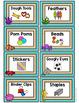 Ocean Themed Classroom Supply Labels- Classroom Decor