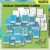 Ocean Themed Clothes Pin Number Game 0-20
