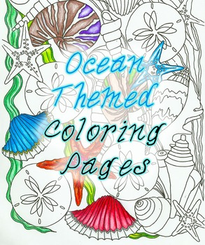 Ocean Themed Coloring Pages