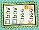 Ocean Themed Daily 5 Cards