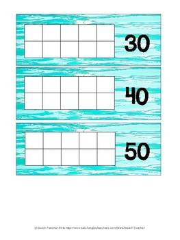 Ocean Themed Days in School Sticker Chart