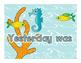 Ocean Themed Days of the Week Calendar Pack