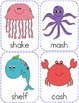 Ocean Themed Digraph Writing Activity