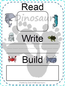 Ocean Themed Dolch Sight Words & Nouns Cards
