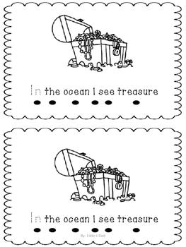 Ocean Themed Emergent Reader