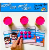 Ocean Themed Fine Motor Tasks