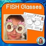 Ocean Theme Fish Glasses by Teacher's Brain