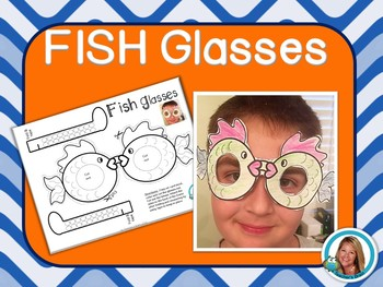 Ocean Theme Fish Glasses by Teacher's Brain