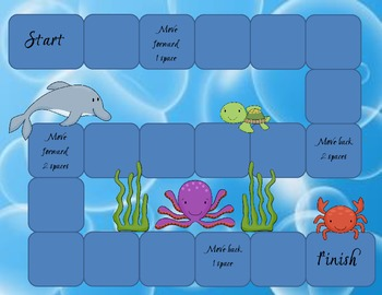 Ocean Themed Game Board