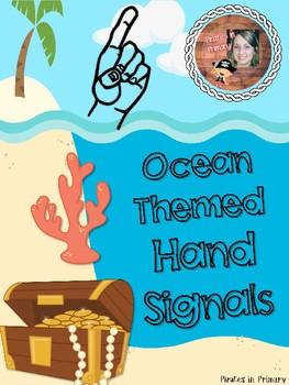 Ocean Themed Hand Signals