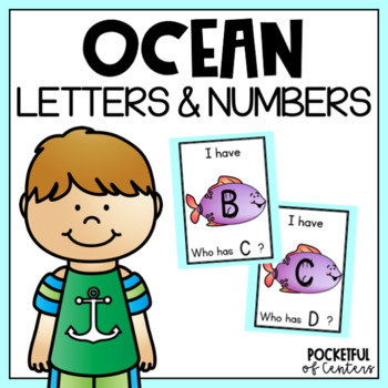 Ocean I Have, Who Has ABC's & 123's