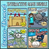 Ocean-Themed Interactive Game Bundle for PowerPoint