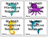 Ocean Themed Interactive Notebook Labels
