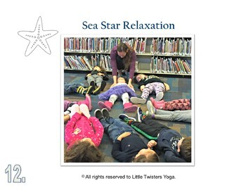 Ocean/Sea Creature Kids Yoga Sequence with Real Photos and Teaching Script