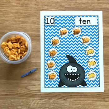 Ocean Themed Math Activities