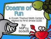 Ocean Themed Math Centers