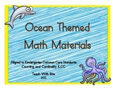 Ocean Themed Math Materials