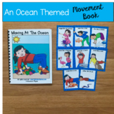 Ocean Themed Movement Cards (And Book!)