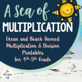 Multiplication & Division {Ocean-Themed}