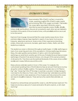 Ocean Themed Nature Education Unit-Stage 2 (Magic Forest Academy)