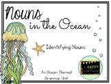 Ocean-Themed Nouns Unit - Identifying Nouns