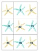 Ocean Themed Ordering Numbers Cards: Skip Counting by 2s, 5s and 10s to 120