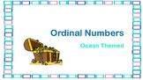 Ocean Themed Ordinal Numbers