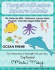 Ocean Themed Organizational Labels - Target