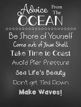 Ocean Themed Quotes