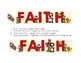 Jesus/ Christian Themed Classroom Decor:  Faith Poster