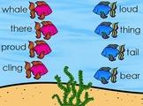 Ocean Themed Rhyming Match-Up Flipchart