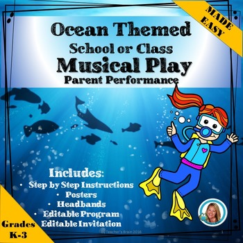 Plays AND Scripts for Children to Perform - OCEAN Themed