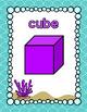 Ocean Themed Shape Posters- Classroom Decor