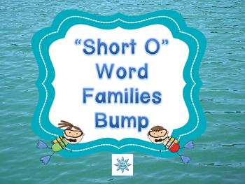 "Ocean Themed ""Short O"" Word Family Bump"