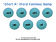 Ocean Themed Short Vowel Word Families Bump Bundle