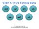 Ocean Themed Short Vowel Word Families Bump Bundle