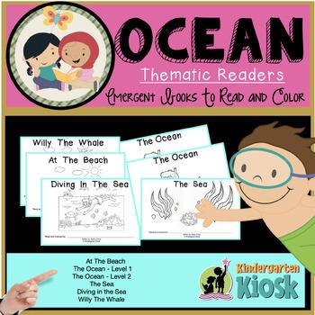 Ocean Themed Guided Readers