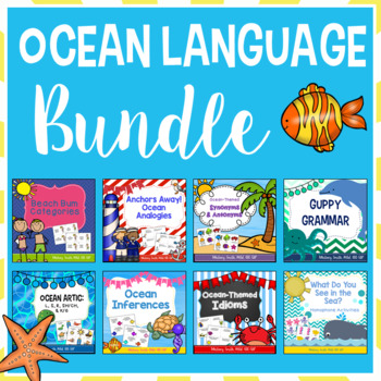 Ocean Themed Speech & Language Bundle