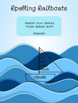 Ocean-Themed Spelling Activities Bundle