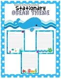 Ocean Themed Stationary