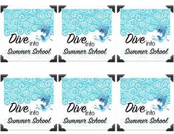 Ocean Themed Summer School Notes - First day