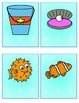 Ocean Themed Syllable Counting Game/Literacy Center