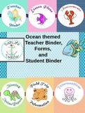 Ocean Themed Teacher Binder and More