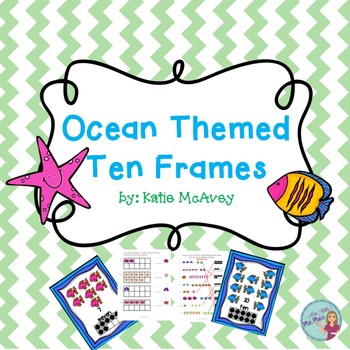 Ten Frames: Ocean Themed