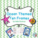 Ten Frames: Ocean Themed